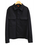 BARENA(バレナ)の古着「オーバーサイズシャツ」|ネイビー