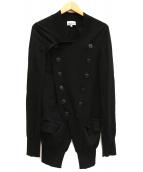 Vivienne Westwood man(ヴィヴィアンウエストウッドマン)の古着「ダブルニットジャケット」|ブラック