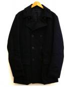 ARTISAN(アルティザン)の古着「ウールカシミヤダブルコート」|ブラック