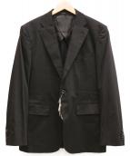 ARTISAN(アルチザン)の古着「2Bジャケット」|ブラック