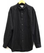 Graphpaper(グラフペーパー)の古着「THOMAS MASON L/S B.D Box Shirt」|グレー