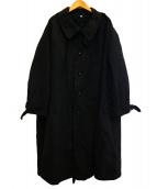 OLDMANS TAILOR(オールドマンズテーラー)の古着「COLD WEATHER COAT」|ネイビー