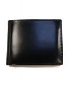 GANZO(ガンゾ)の古着「コードバン小銭入れ付二つ折り財布」|ブラック