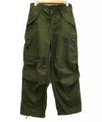 US ARMY(米軍)の古着「M-65フィールドパンツ」|カーキ