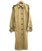 BLACK by moussy(ブラックバイマウジー)の古着「ドルマンエポーレットジャケット」|ベージュ