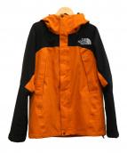 THE NORTH FACE(ザノースフェイス)の古着「マウンテンジャケット」|オレンジ