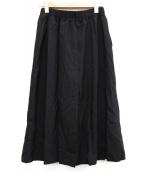LE GLAZIK(ルグラジック)の古着「ギャザースカート」|ブラック