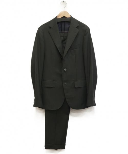 UNITED ARROWS(ユナイテッドアローズ)UNITED ARROWS (ユナイテッドアローズ) ツイル3Bスーツ ダークグリーン サイズ:46 1123-161-5065の古着・服飾アイテム