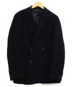 CARUSO(カルーゾ)の古着「ピークドラペルダブルブレストジャケット」|ネイビー