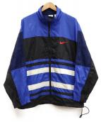 NIKE(ナイキ)の古着「[古着]90sナイロンジャケット」 ブルー