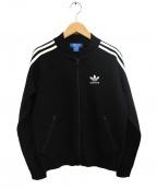 adidas(アディダス)の古着「ウールトラックジャケット」|ブラック
