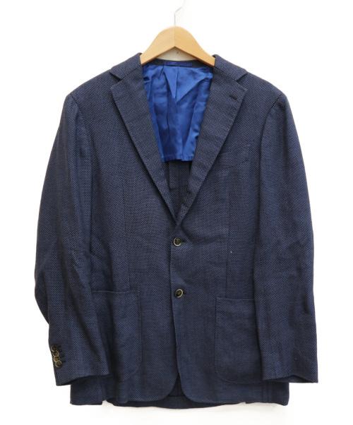 ICHORAI(イコライ)ICHORAI (イコライ) 段返り3Bジャケット ブルー サイズ:48の古着・服飾アイテム