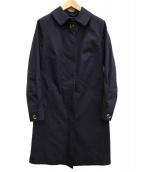 KATHERINE HOOKER(キャサリン・フッカー)の古着「ステンカラーコート」|ネイビー