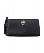 Kate Spade(ケイトスペード)の古着「長財布」|ブラック