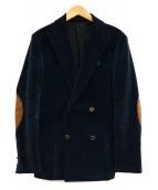 KOLOR(カラー)の古着「エルボーパッチコーデュロイジャケット」|ネイビー
