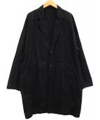 LAD MUSICIAN(ラッドミュージシャン)の古着「撥水加工チェスターコート」|ブラック