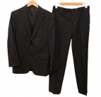 BURBERRY BLACK LABEL(バーバリーブラックレーベル)の古着「3Pセットアップスーツ」|ブラック