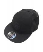 CANADA GOOSE × New Era(カナダグース×ニューエラ)の古着「ロゴトラッカーキャップ」|ブラック