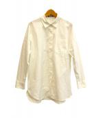 theory luxe(セオリーリュクス)の古着「ボックスシャツ」|ホワイト