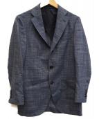 SHIPS(シップス)の古着「リネン混2Bアンコンジャケット」|ブルー