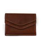 土屋鞄(ツチヤカバン)の古着「ディアリオツインコインケース」|ブラウン