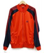 adidas(アディダス)の古着「[古着]70'sATPトラックジャケット」|レッド