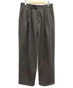 MONITALY(モニタリー)の古着「3タックパンツ」|グレー