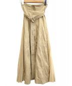 Snidel(スナイデル)の古着「スウィッチパターンスカート」|アイボリー