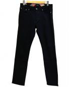 BLACK LABEL CRESTBRIDGE(ブラックレーベルクレストブリッジ)の古着「ストレッチパンツ」 ネイビー