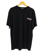 BALENCIAGA(バレンシアガ)の古着「キャンペーンロゴ Tシャツ」|ブラック