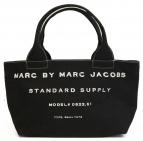 Marc by Marc Jacobs(マーク・バイ・マーク・ジェイコブズ)の古着「キャンバストートバッグ」 ブラック