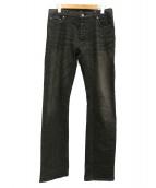 BURBERRY BLACK LABEL(バーバリーブラックレーベル)の古着「デニムパンツ」|ブラック
