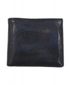 IL BISONTE(イルビゾンテ)の古着「2つ折り札入れ」|ブラック