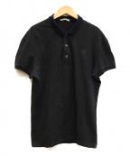 BOTTEGA VENETA()の古着「ポロシャツ」 ブラック