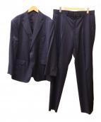 DURBAN(ダーバン)の古着「ロロピアーナタスマニアンセットアップスーツ」|ネイビー