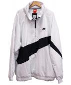 NIKE(ナイキ)の古着「ビッグスウォッシュアノラック ジャケット」 ホワイト