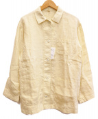 FRAMeWORK(フレームワーク)の古着「LINEN製品染めカバーオール」|ベージュ