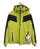 EMPORIO ARMANI EA7(エンポリオ アルマーニ イーエーセブン)の古着「スキーダウンジャケット」|ブラック×イエロー