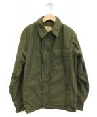 US NAVY(ユーエスネイビー)の古着「[古着]80sデッキジャケット」|カーキ
