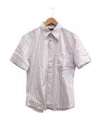 Paul Smith COLLECTION(ポールスミスコレクション)の古着「半袖シャツ」|ピンク