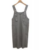 RAY BEAMS(レイビームス)の古着「ジャンパースカート」|グレー