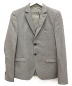 LOUNGE LIZARD(ラウンジリザード)の古着「テーラードジャケット」|グレー