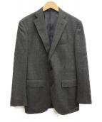 THE SUIT COMPANY(ザスーツカンパニ)の古着「カシミヤ混テーラードジャケット」|グレー