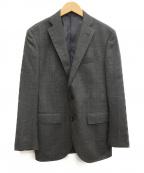 THE SUIT COMPANY(ザ・スーツカンパニー)の古着「カシミヤ混テーラードジャケット」|グレー