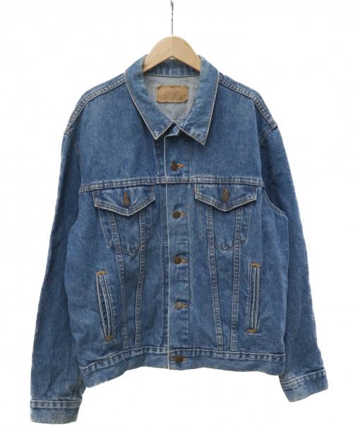 LEVIS(リーバイス)LEVIS (リーバイス) デニムジャケット ブラック サイズ:42 80s 70506-0217の古着・服飾アイテム