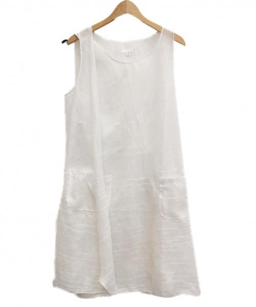 Engineered Garments(エンジニアドガーメンツ)Engineered Garments (エンジニアドガーメンツ) メッシュベスト ホワイト サイズ:2の古着・服飾アイテム