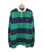 POLO RALPH LAUREN(ポロラルフローレン)の古着「ラガーシャツ」|グリーン