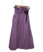 GRAMICCI×emmi(グラミチ×エミ)の古着「ロングスカート」|ピンク