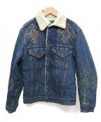 R.H.Vintage(ロンハーマンヴィンテージ)の古着「装飾デニムジャケット」 インディゴ