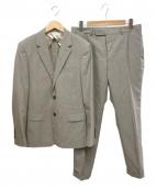 BEAUTY&YOUTH(ビューティーアンドユース)の古着「トロピカル2ボタンスーツ」|ベージュ